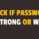 Check if Password is Strong or Weak using Javascript