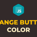How to Change Button Color on Click in Javascript