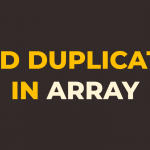 how to find duplicate elements in array in javascript