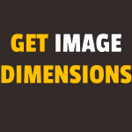 how to get image dimensions in javascript